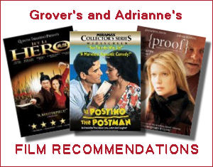 Grover and Adrianne Film Recommendations