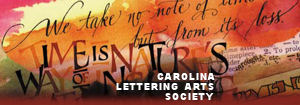 Carolina Lettering Arts Society